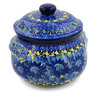 24 oz Stoneware Bouillon Cup with Lid - Polmedia Polish Pottery H7839J