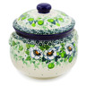 24 oz Stoneware Bouillon Cup with Lid - Polmedia Polish Pottery H7840J