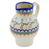 24 oz Stoneware Pitcher - Polmedia Polish Pottery H0532K