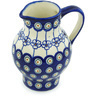 24 oz Stoneware Pitcher - Polmedia Polish Pottery H3248H