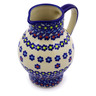 24 oz Stoneware Pitcher - Polmedia Polish Pottery H9060I