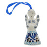 3-inch Stoneware Angel Ornament - Polmedia Polish Pottery H1602L