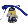 3-inch Stoneware Angel Ornament - Polmedia Polish Pottery H6676K