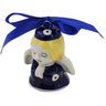 3-inch Stoneware Angel Ornament - Polmedia Polish Pottery H6802K