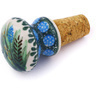 3-inch Stoneware Bottle Stopper - Polmedia Polish Pottery H6062G