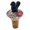 3-inch Stoneware Bottle Stopper - Polmedia Polish Pottery H6753K