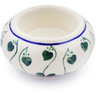 3-inch Stoneware Candle Holder - Polmedia Polish Pottery H0319K
