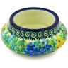 3-inch Stoneware Candle Holder - Polmedia Polish Pottery H3601G