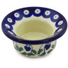 3-inch Stoneware Candle Holder - Polmedia Polish Pottery H4716G