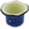 3-inch Stoneware Candle Holder - Polmedia Polish Pottery H4937G