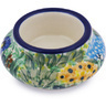 3-inch Stoneware Candle Holder - Polmedia Polish Pottery H4956G