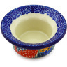 3-inch Stoneware Candle Holder - Polmedia Polish Pottery H5108G