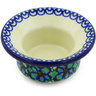 3-inch Stoneware Candle Holder - Polmedia Polish Pottery H5342G