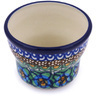 3-inch Stoneware Candle Holder - Polmedia Polish Pottery H5390G