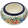3-inch Stoneware Candle Holder - Polmedia Polish Pottery H5574L