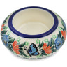 3-inch Stoneware Candle Holder - Polmedia Polish Pottery H5649L