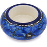 3-inch Stoneware Candle Holder - Polmedia Polish Pottery H5707G