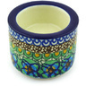 3-inch Stoneware Candle Holder - Polmedia Polish Pottery H6368G
