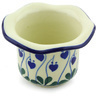 3-inch Stoneware Candle Holder - Polmedia Polish Pottery H6529G