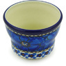 3-inch Stoneware Candle Holder - Polmedia Polish Pottery H6546G