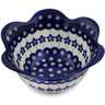 3-inch Stoneware Fluted Bowl - Polmedia Polish Pottery H1335L
