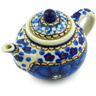 3-inch Stoneware Mini Tea Pot - Polmedia Polish Pottery H4511G