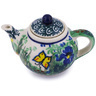 3-inch Stoneware Mini Tea Pot - Polmedia Polish Pottery H5538G