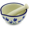 3-inch Stoneware Mortar and Pestle - Polmedia Polish Pottery H4777G