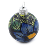3-inch Stoneware Ornament Christmas Ball - Polmedia Polish Pottery H0912E