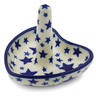 3-inch Stoneware Ring Holder - Polmedia Polish Pottery H2072J