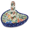 3-inch Stoneware Ring Holder - Polmedia Polish Pottery H5558L