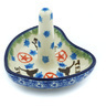 3-inch Stoneware Ring Holder - Polmedia Polish Pottery H5836H