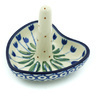 3-inch Stoneware Ring Holder - Polmedia Polish Pottery H6445H