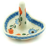 3-inch Stoneware Ring Holder - Polmedia Polish Pottery H6653H