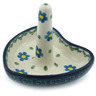 3-inch Stoneware Ring Holder - Polmedia Polish Pottery H9016B