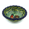 3-inch Stoneware Scalloped Bowl - Polmedia Polish Pottery H0014G