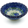 3-inch Stoneware Scalloped Bowl - Polmedia Polish Pottery H2817C