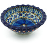3-inch Stoneware Scalloped Bowl - Polmedia Polish Pottery H2868C