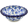 3-inch Stoneware Scalloped Bowl - Polmedia Polish Pottery H3154B