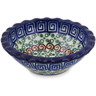 3-inch Stoneware Scalloped Bowl - Polmedia Polish Pottery H4913A
