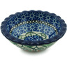 3-inch Stoneware Scalloped Bowl - Polmedia Polish Pottery H4920A