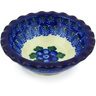 3-inch Stoneware Scalloped Bowl - Polmedia Polish Pottery H5002G