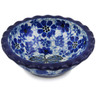 3-inch Stoneware Scalloped Bowl - Polmedia Polish Pottery H5690L