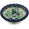 3-inch Stoneware Scalloped Bowl - Polmedia Polish Pottery H7186J