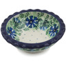 3-inch Stoneware Scalloped Bowl - Polmedia Polish Pottery H7233B