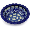 3-inch Stoneware Scalloped Bowl - Polmedia Polish Pottery H7799G