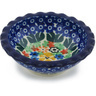 3-inch Stoneware Scalloped Bowl - Polmedia Polish Pottery H8345G