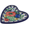 3-inch Stoneware Tea Bag or Lemon Plate - Polmedia Polish Pottery H0068G
