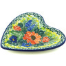 3-inch Stoneware Tea Bag or Lemon Plate - Polmedia Polish Pottery H4608H