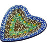 3-inch Stoneware Tea Bag or Lemon Plate - Polmedia Polish Pottery H4756G